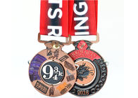 2 Sides Enamel Color Filled Custom Sports Medals Miraculous Kettlebell Lifting Sport Type