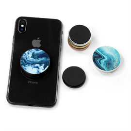 China High Definition Logo Mobile Phone Holder Metal Inside Popsocket Clip Magnet Strong Air Pop factory
